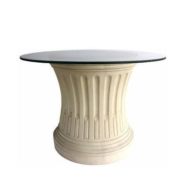 Anderson Teak Louis XVI Fluted Dining Table