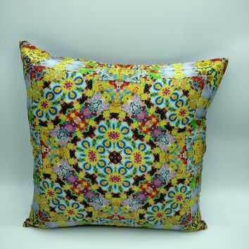 Silk Satin 16mm Pillow Cover 3 - 16x16 Inches