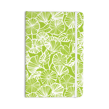 "Jacqueline Milton ""Vine Shadow - Lime"" Green Floral Everything Notebook"