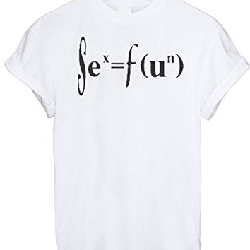 SIENCE CHEMISTRY MATHS FUN GEED NERD MEN WOMEN UNISEX T SHIRT TOP TEE NEW - White