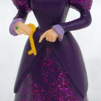 "Disney Cinderella, 3"" Step Mother Figure Doll Toy, Cake Topper"