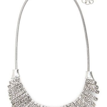 Sole Society Crescent Link Statement Necklace | Nordstrom