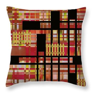 "City Works Throw Pillow for Sale by Ben and Raisa Gertsberg - 16"" x 16"""