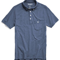 Weathered Pocket Polo in Royal Navy