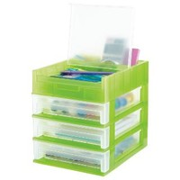 3-Drawer Desktop Organizer | The Container Store