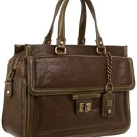 Olivia Harris Toggle Hinge East/West Satchel
