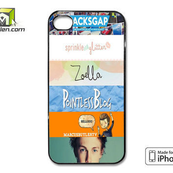 Quotes The Youtubers 2 iPhone 4 Case Cover by Avallen