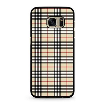Burberry Inspired Samsung Galaxy S7 Case