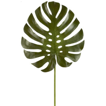 Ashland® Tropical Monstera Leaf Stem