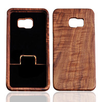 For Samsung Galaxy S6 edge plus case Real Natural Wooden Wood Case