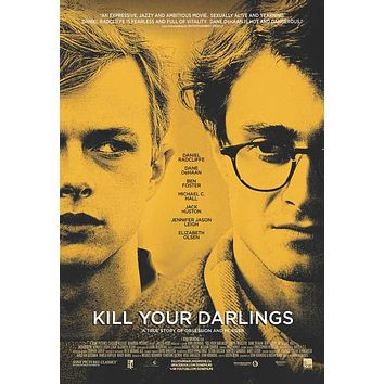 Kill Your Darlings (Canadian) 27x40 Movie Poster (2013)