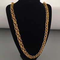 New Arrival Jewelry Stylish Shiny Gift Fashion Hip-hop Club Necklace [6542776003]