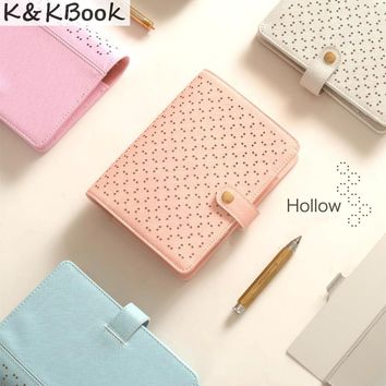 Beautiful Hollow Leather Planner