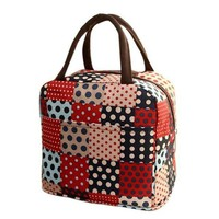 DCCKU7Q Thermal Insulated Tote Picnic Lunch Cool Bag Cooler Box Handbag Pouch #6m
