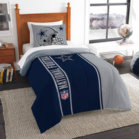 Dallas Cowboys NFL Twin Comforter Set (Soft & Cozy) (64 x 86)
