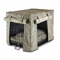 Cabana Pet Crate Cover with Pillow Bed – Small