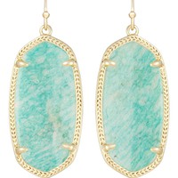 ELLE EARRINGS IN AMAZONITE by Kendra Scott
