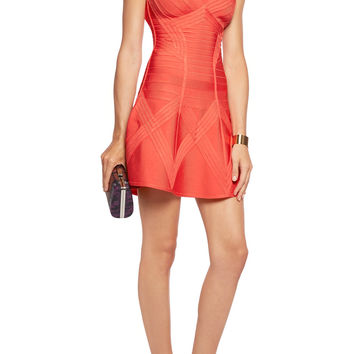 Bandage mini dress | Hervé Léger | US | THE OUTNET