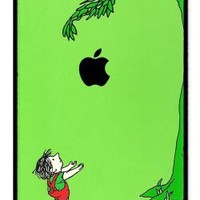 Giving Tree RUBBER iphone 4 case - Fits iphone 4 and iphone 4s