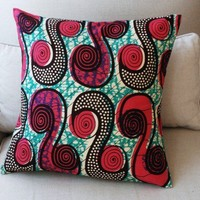 POP Print Julius Holland CUSHION Throw pillow cover by SISTERBATIK