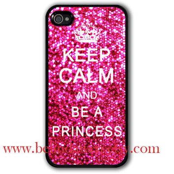 iphone 4 case iphone 4s case Keep Calm and be a by belindawen