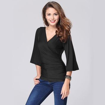 Chiffon Summer Women's Fashion Tops =