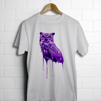 Purple OvO Drake x Future Owl T-Shirt