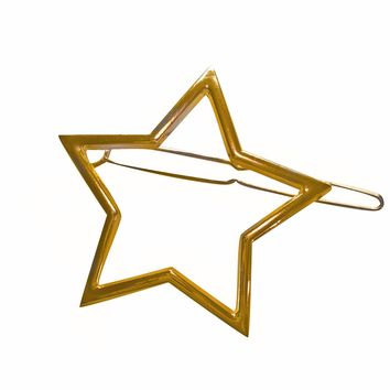 Deadstock Gold-Toned Star Hairclip