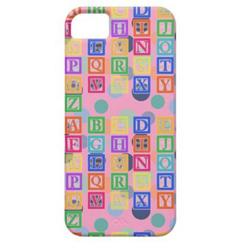 Block Letters Case-Mate Barely There iPhone 5S/5