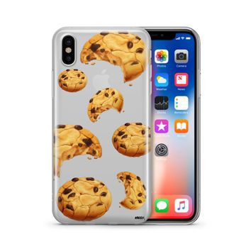 Chocolate Chip Cookie - Clear Case Cover