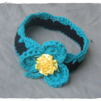 St. Patrick's Day Crochet Crown Headband Infant