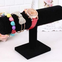 Hard Stand Bracelet Chain Bangle Watch T-bar Rack Holder Display Jewelry
