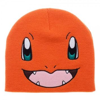 Pokemon Charmander Big Face Knit Beanie
