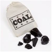 Candy Coal, Christmas candy gift, Stocking stuffer, 2oz. Bag