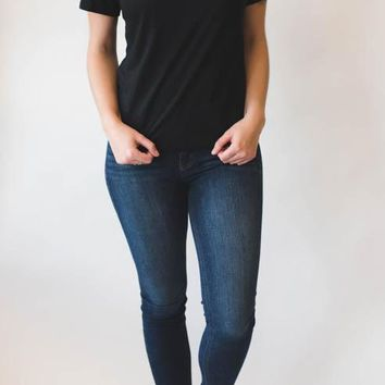 Basic Short Sleeve - Black