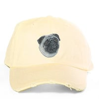 Pug Destroyed Cap *preorder, ships 1/25*