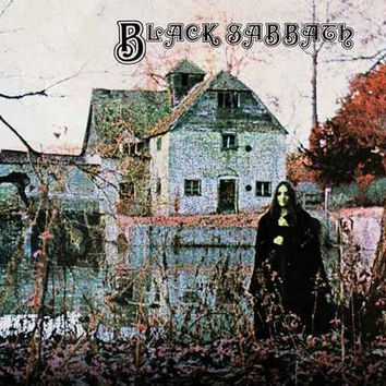 Black Sabbath Album Cover Poster 11x17