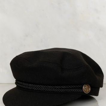 Classic Cabby Hat Black