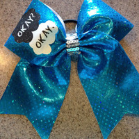 The Fault In Our Stars cheer bow