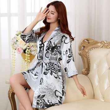 DCCKL3Z NEW Fashion women men nightwear sexy sleepwear lingerie sleepshirts nightgowns sleeping dress good nightdress lover's Homewear