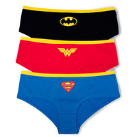 Superheroine 3-Pack Panties