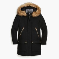 Chateau parka in Italian stadium-cloth wool
