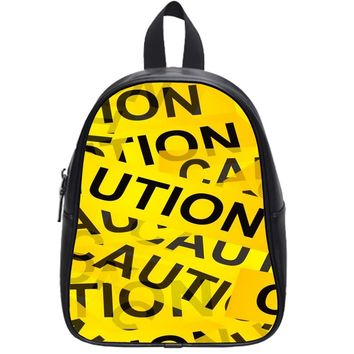 Caution Yellow Tape Cases For Iphone 6 School Backpack Large