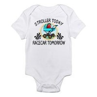 Stroller Today, Racecar Tomor Infant Bodysuit> Stroller Today, Racecar Tomorrow> One Stop Race Shop