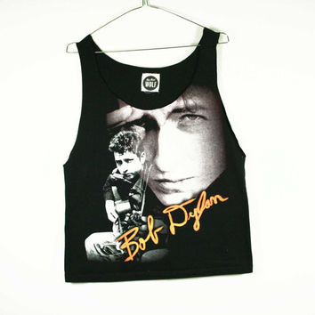 Bob Dylan unisex muscle tee by shopbigbadwolf on Etsy