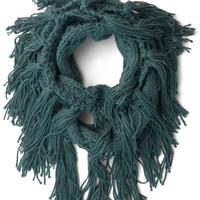 Toffee and Tea Circle Scarf in Blue | Mod Retro Vintage Scarves | ModCloth.com