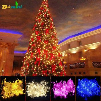 Christmas Lights Outdoor Led Strip lights 30M30LED Holiday Lighting Christmas Decoration for home Fairy Wedding Party luminaria