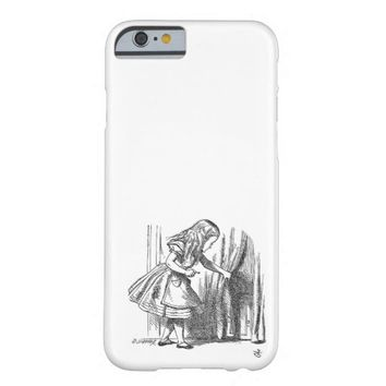 Vintage Alice in Wonderland art accessories emo Barely There iPhone 6 Case