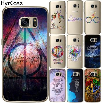 Avada Kedavra Harry Potter Bitch Deer Soft TPU Silicone Phone Back Case Cover For Samsung Galaxy S5 Mini S6 S7 Edge S8 S9 Plus