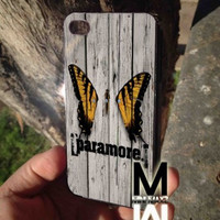 paramore brand new eyes iPhone Case And Samsung Galaxy Case